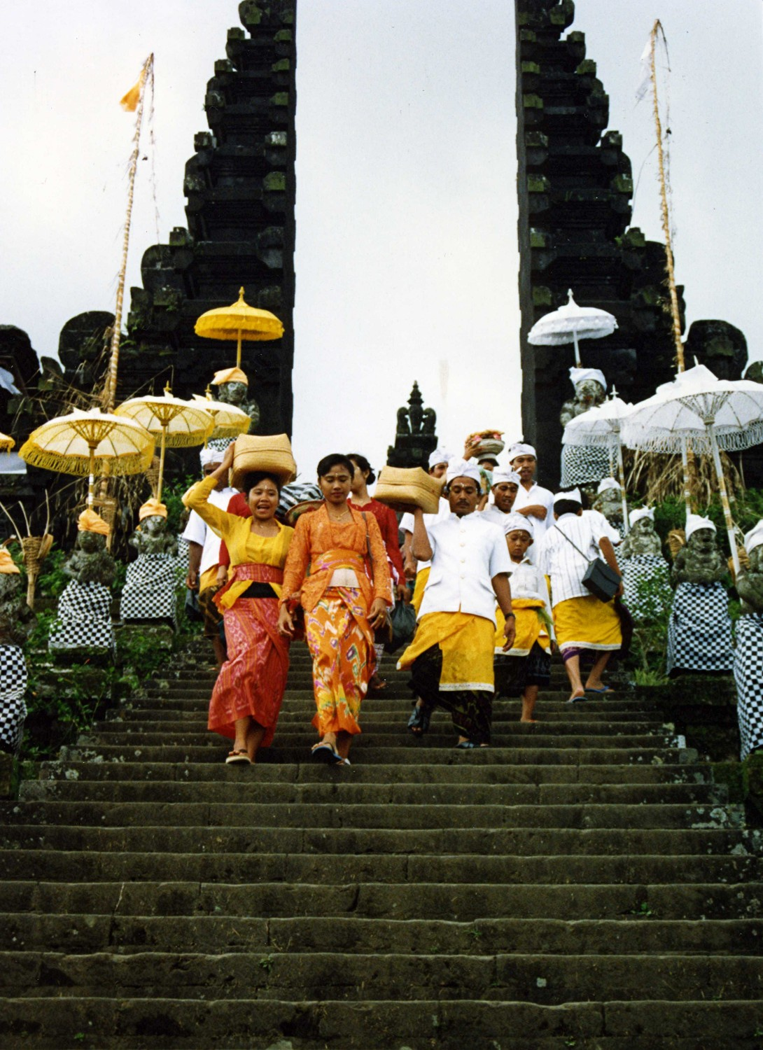 at Besakih - the Mother Temple of Bali
